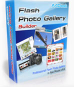 A4Desk Flash Photo Gallery Builder, creates interactive Flash gallery, flash image gallery, foto gallery and images albums